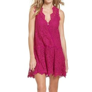 Free People   Heart in Two Lace Dress - M